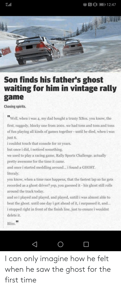 """Dad, Finish Line, and Saw: 83 