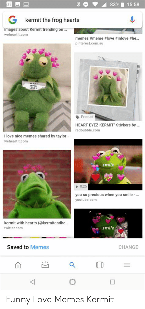 83 1558 Kermit The Frog Hearts Images About Kermit Trending