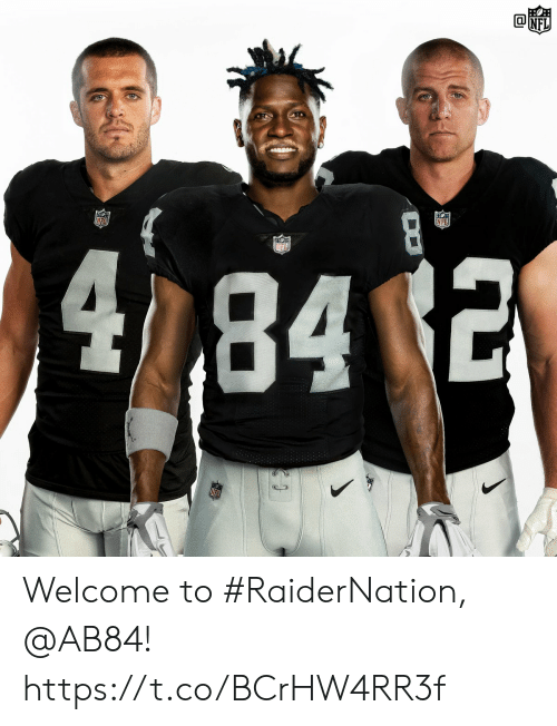 Memes, 🤖, and  Welcome: 842 Welcome to #RaiderNation, @AB84! https://t.co/BCrHW4RR3f