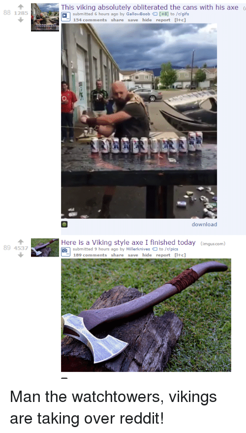 88 1285 89 4537 This Viking Absolutely Obliterated the Cans