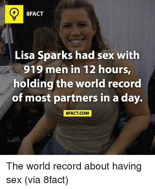 partners sex most record World of