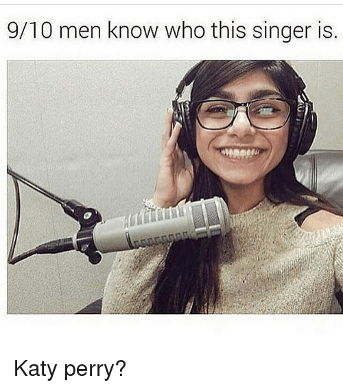 9 10 men know who this singer is katy perry 14712100 ✅ 25 best memes about katie perry katie perry memes,Katy Perry Meme