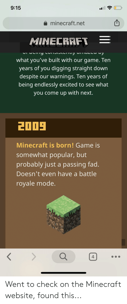 915 Aminecraftnet What You've Built With Our Game Ten Years