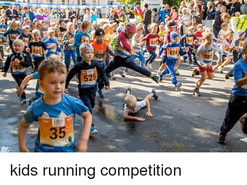 Kid Running Funny Meme : Kids running competition funny meme on me me