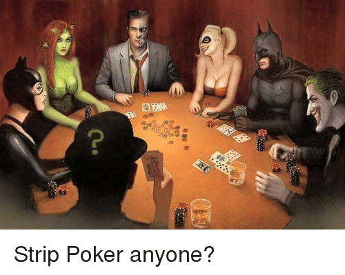 my strip poker