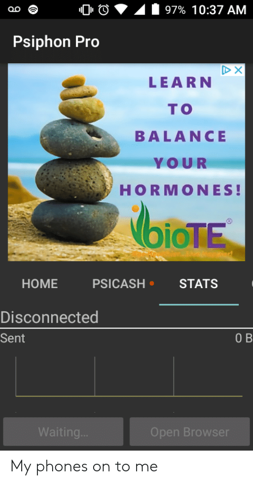 97% 1037 AM Psiphon Pro DX LEARN TO BALANCE YOUR HORMONES