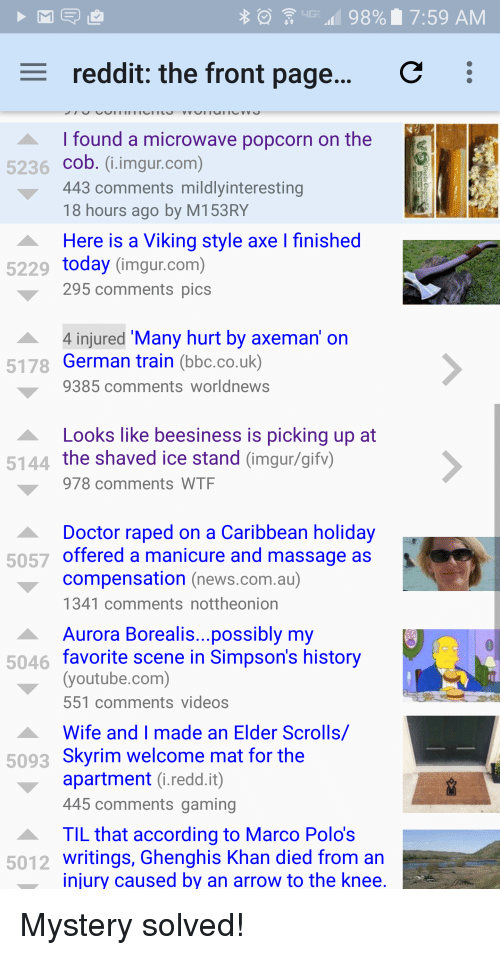 98 I 759 Am C E Reddit The Front Page I Found A Microwave