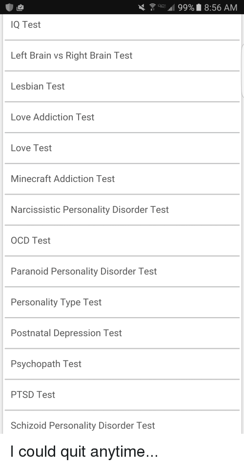 Love or addiction test