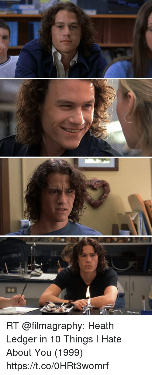 99 Rt Heath Ledger In 10 Things I Hate About You 1999