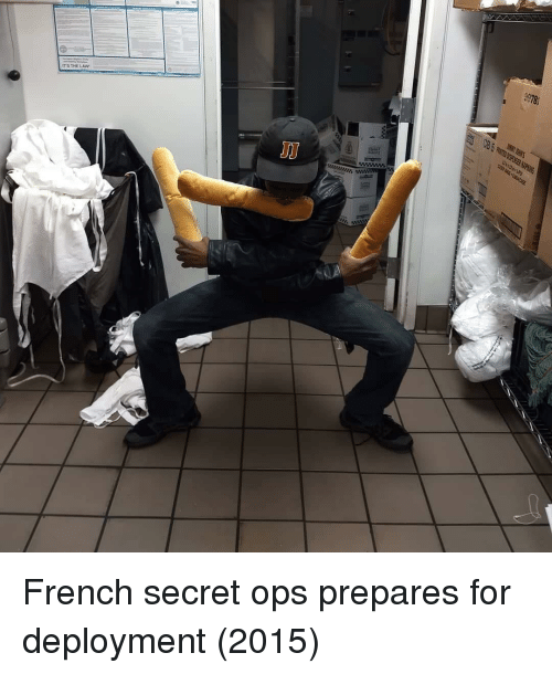 French, Secret, and Ops: 9978  ITS THELAW French secret ops prepares for deployment (2015)
