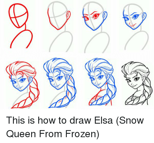 9999 this is how to draw elsa snow queen from frozen elsa meme on elsa snow voltagebd Image collections