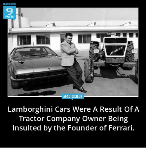 9facts Couk His Lamborghini Cars Were A Result Of A Tractor Company