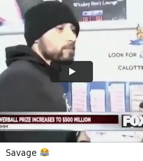 Drugs, Funny, and Hookers: Powerball prize increases to $500 million Savage 😂