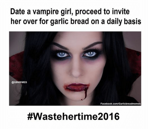 Dating a girl vampire quiz