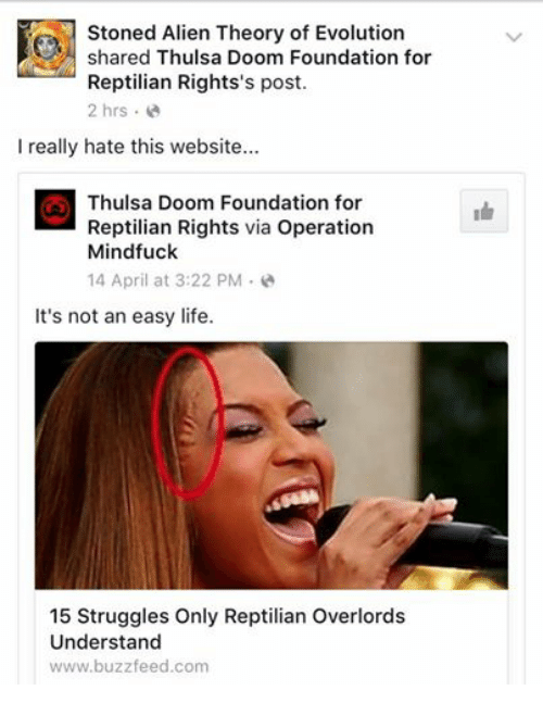 Sorry, that Operation mind fuck think