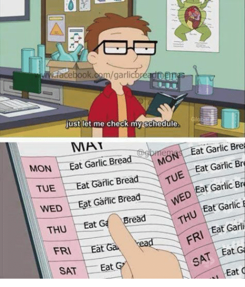 Let Me Check My Schedule