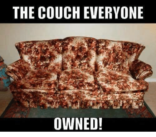 Facebook 23b355 the couch everyone owned! couch meme on me me