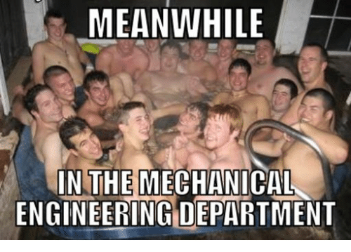 Engineering, UC Berkeley, and Mechanic: MEANWHILE  IN THE  MECHANICAL  ENGINEERING DEPARTMENT