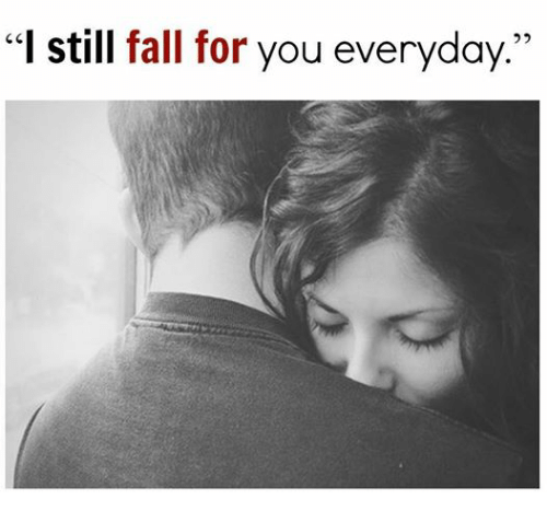 """Fall, Relationships, and Falling for You: """"I still fall for you everyday."""""""