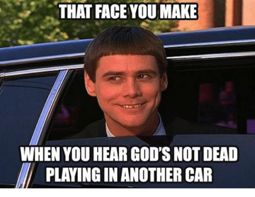 Facebook 3c11f7 that face you make when you hear god's not dead playing in another