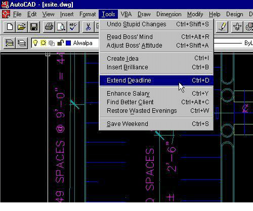 Ldo AutoCAD Ixsitedwgl File Edit View Insert Formal Tools