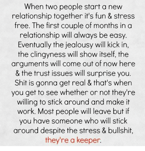stress with relationships