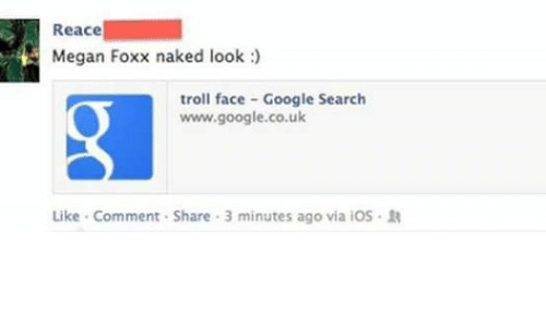 Trolled Face