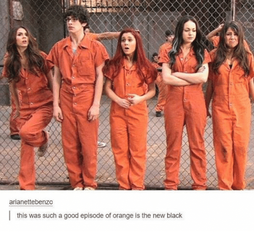 Funny, Tumblr, and Black: arianettebenzo  this was such a good episode of orange is the new black