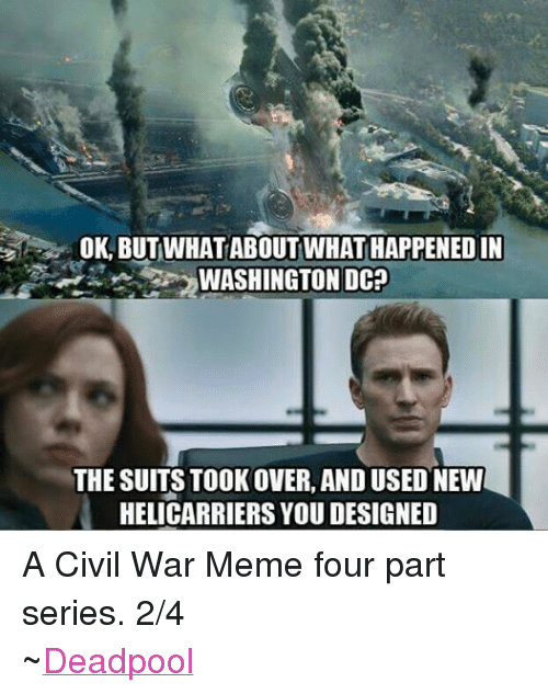 Civil War Meme