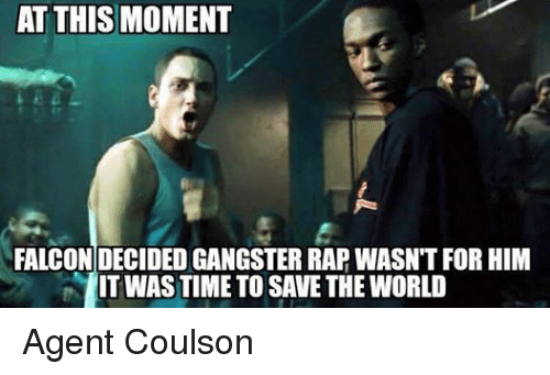 Facebook Agent Coulson a15db0 25 best gangster rap memes drink some coffee put on gangster rap