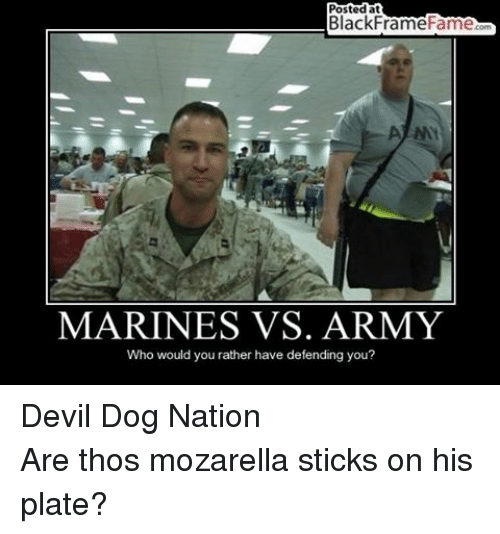 25+ Best Memes About Marine vs Army | Marine vs Army Memes