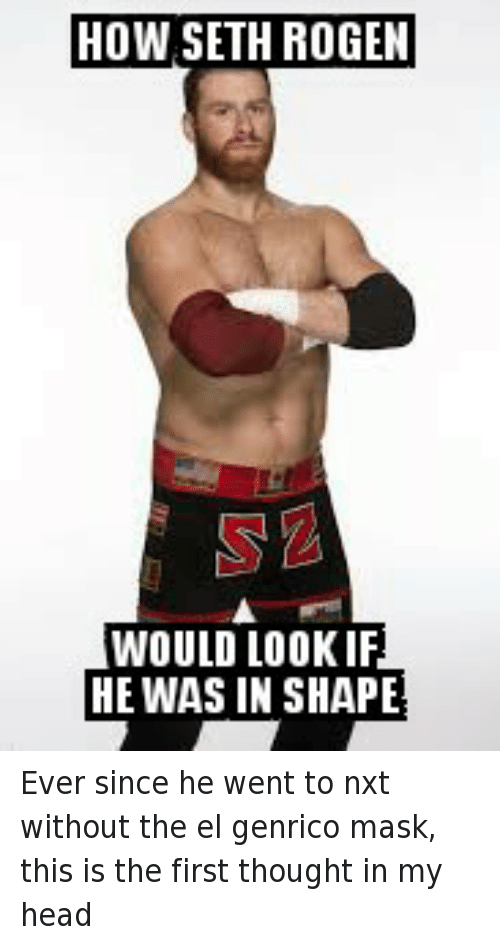 Facebook Ever since he went to nxt 003f43 how seth rogen would look if he was in shape ever since he went to
