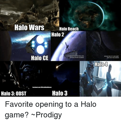 Facebook Favorite opening to a Halo game 81cc1f ✅ 25 best memes about halo reach halo reach memes