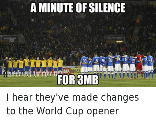 A Minute Of Silence