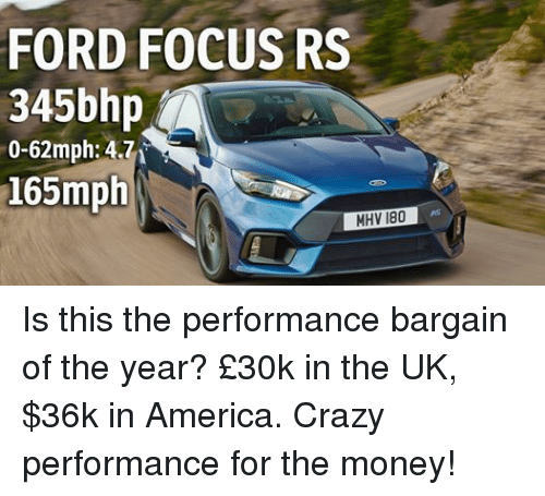 Facebook Is this the performance bargain of e6c541 ✅ 25 best memes about focus rs focus rs memes,Ford Focus Meme