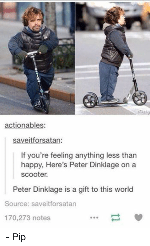 Facebook Pip 297655 ✅ 25 best memes about peter dinklage on a scooter peter