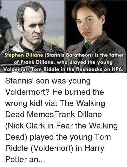 Facebook Stannis son was young Voldermort He 75db0b stephen dillane stannis baratheon is the father of frank dillane