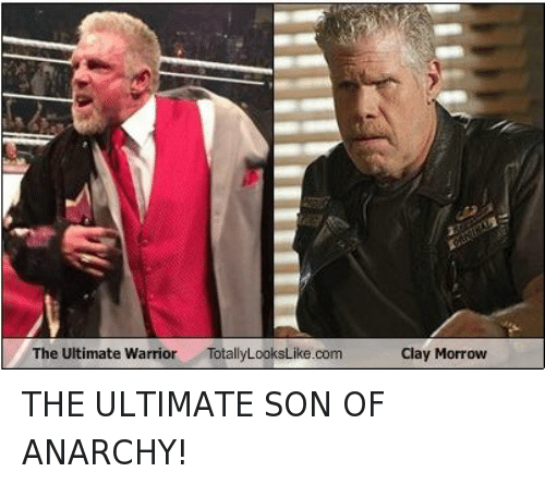 The Ultimate Warrior Totally Lookslike Com Clay Morrow The Ultimate