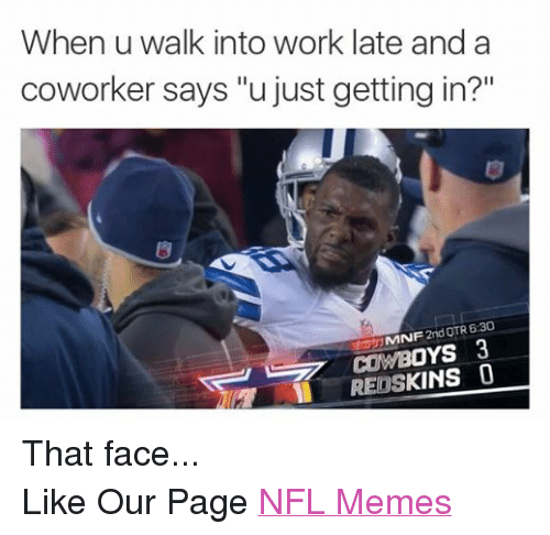 Getting To Work Late