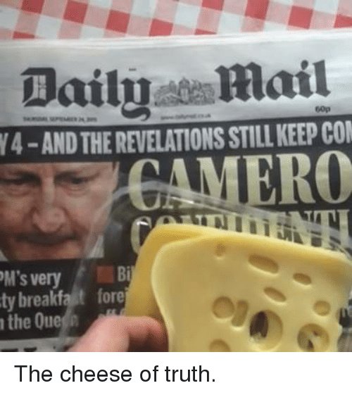 The Cheese Of Truth
