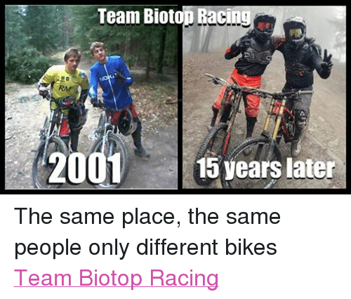 Facebook The same place the same people 28402d team bioto racing 2001 15 years later the same place the same people