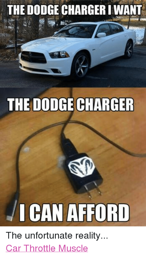 the dodge chargeri want the dodge charger i can afford the unfortunate reality car throttle. Black Bedroom Furniture Sets. Home Design Ideas
