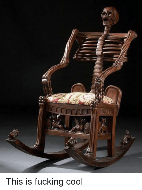 Rocking chair fuck