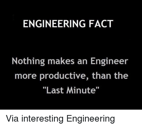facts engineering and productivity engineering fact nothing makes an engineer more productive via interesting engineering