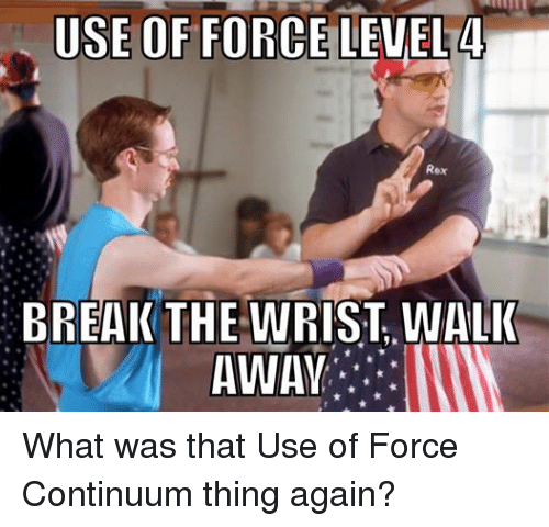 how to break your wrist with force