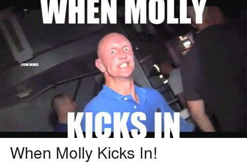 Facebook When Molly Kicks In d4cb2b when molly menes kicks in when molly kicks in! molly meme on me me