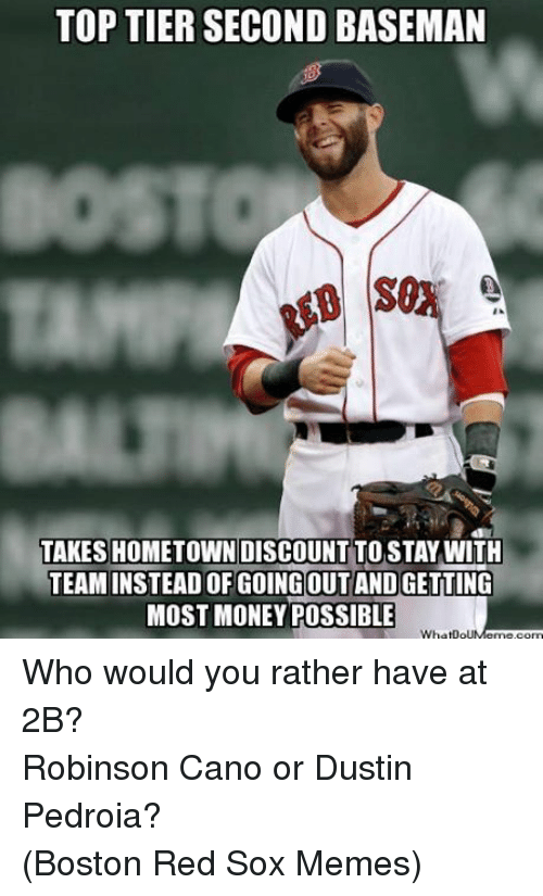 Facebook Who would you rather have at fce55c toptier second baseman takes hometown discount to stay with team