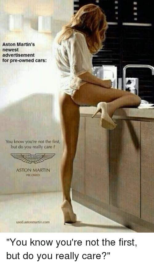 Good Cars, Martin, And Aston Martin: Aston Martinu0027s Newest Advertisement For  Pre Owned