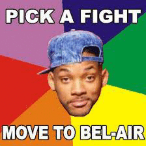 Dank Memes, Fight, and  Moves: PICK A FIGHT  MOVE TO BELAIR