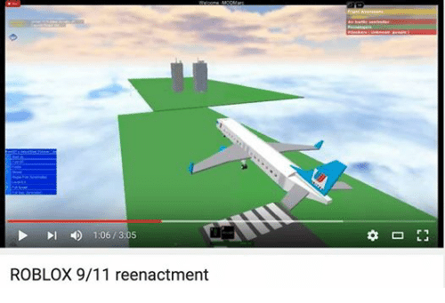 L 106 305 Roblox 911 Reenactment 911 Meme On Meme